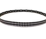 Houndstooth-Cross-Grip-Hairband