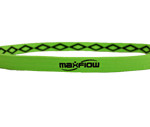 Neon Green Cross-Grip-Hairband