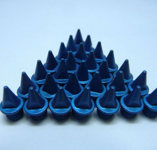 7mm Blue – Lite Pyramid Spikes