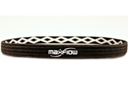 Black White Cross-Grip Hairband