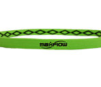 Neon Green Cross-Grip Hairband