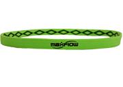 Neon Green Cross-Grip Hairband