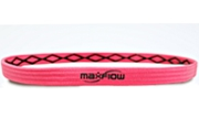 Pink Cross-Grip Hairband