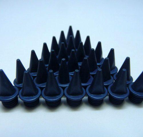 9mm Blue – Lite Pyramid Spikes