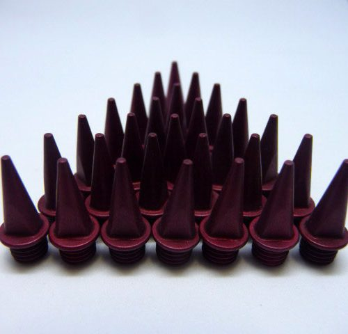 13mm Red – Lite Pyramid Spikes