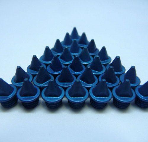 5mm Blue – Lite Pyramid Spikes