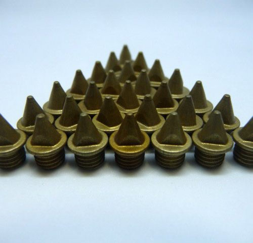 5mm Gold – Lite Pyramid Spikes