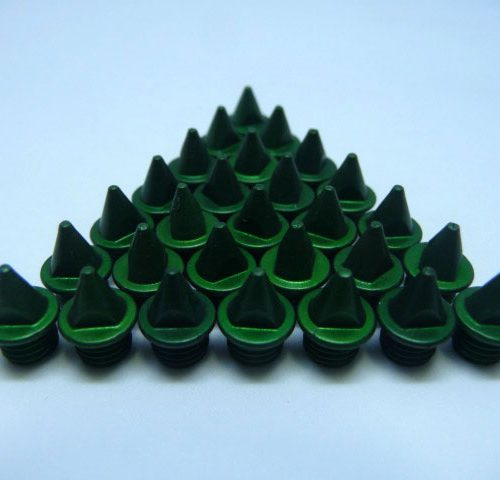 5mm Green – Lite Pyramid Spikes