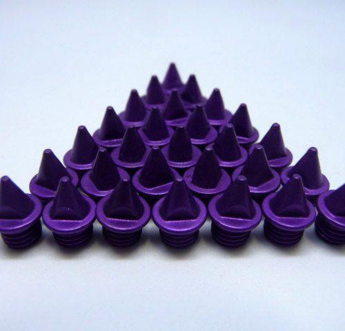 5mm Violet – Lite Pyramid Spikes