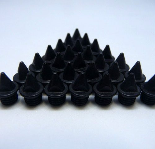 5mm Black – Lite Pyramid Spikes