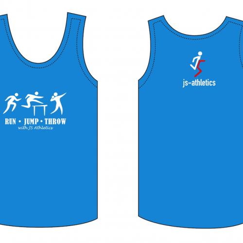 JS Athletics Singlet (Adults)