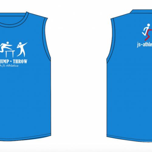 JS Athletics Sleeveless T-Shirt (Adults)